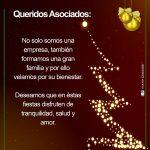 ¡Feliz Navidad Queridos Asociados!